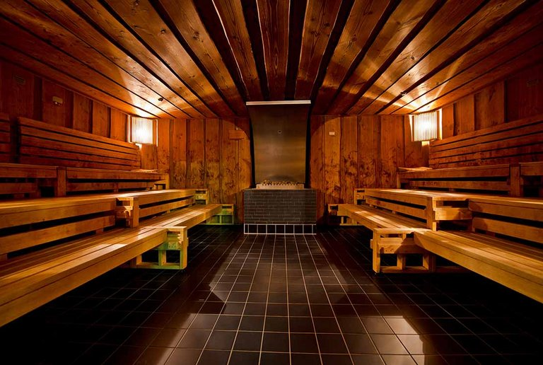 Finnish sauna for pure relaxation