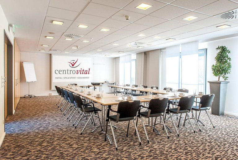 Modern conference room at the centrovital hotel Berlin