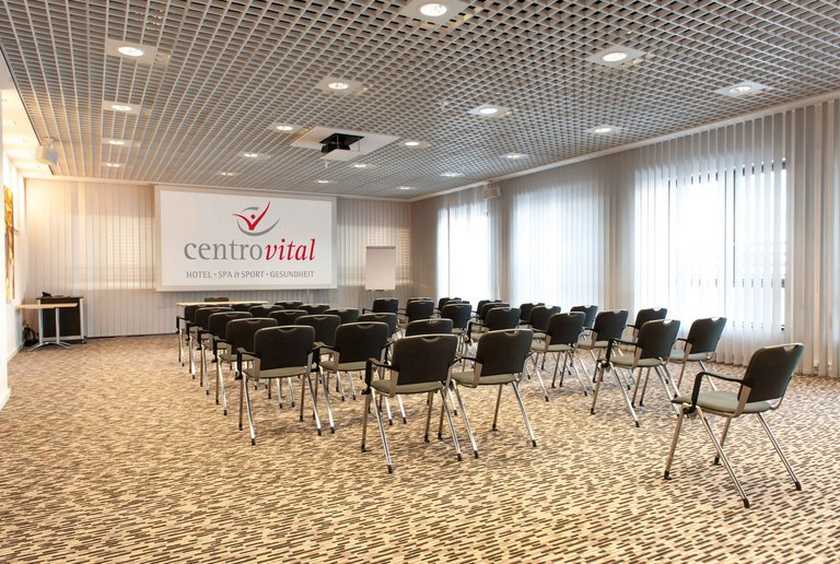 Generous conference room at the centrovital hotel Berlin