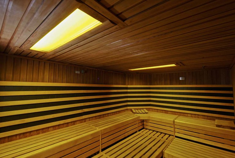 Sauna at centrovital
