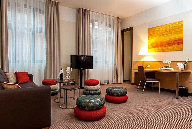 The Suite at centrovital hotel in Berlin