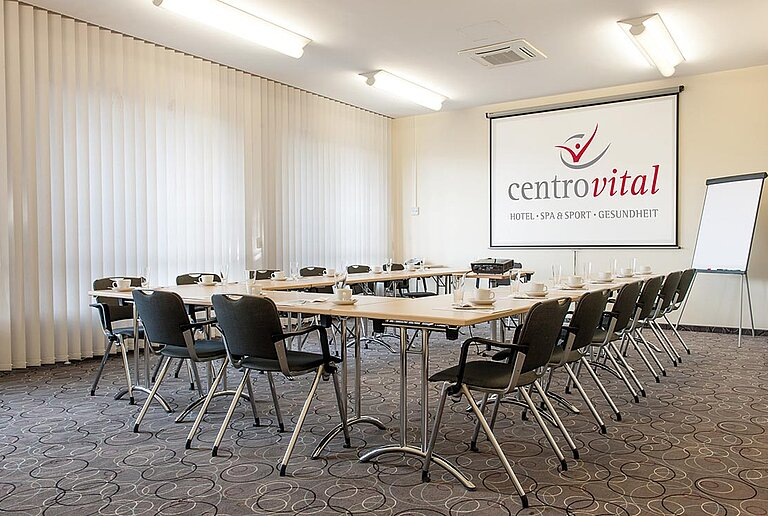 Seminar room at the centrovital hotel Berlin - perfect for teamwork