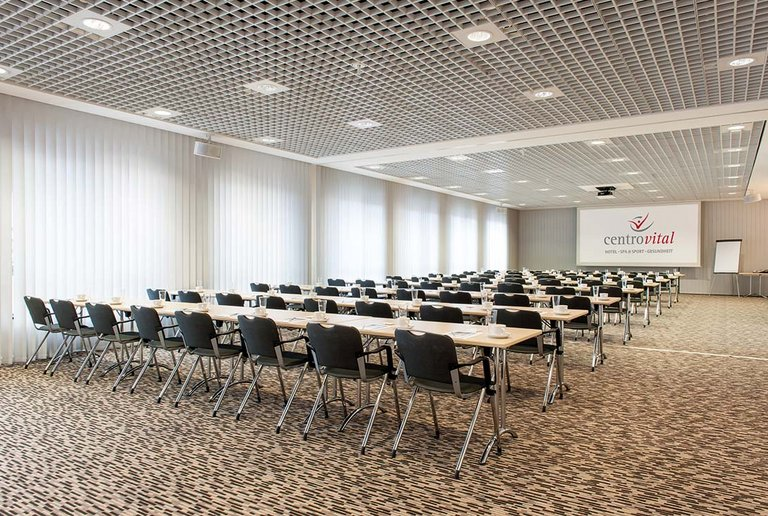 Conference room for a capacity of 200 persons at the centrovital Berlin