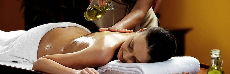 Ayurveda Massage at centrovital Berlin-Spandau.
