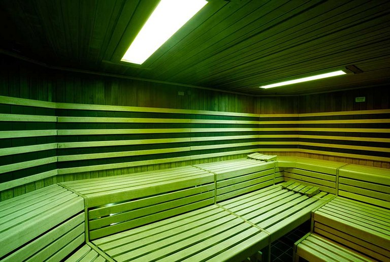 Our bio sauna at centrovital
