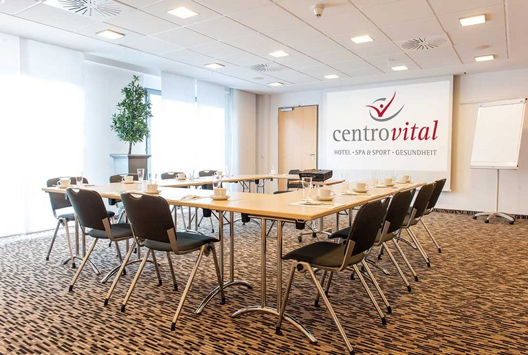 Quiet meeting room at the centrovital hotel Berlin